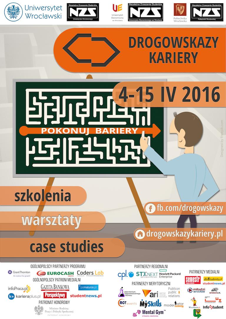 plakat - Drogowskazy Kariery