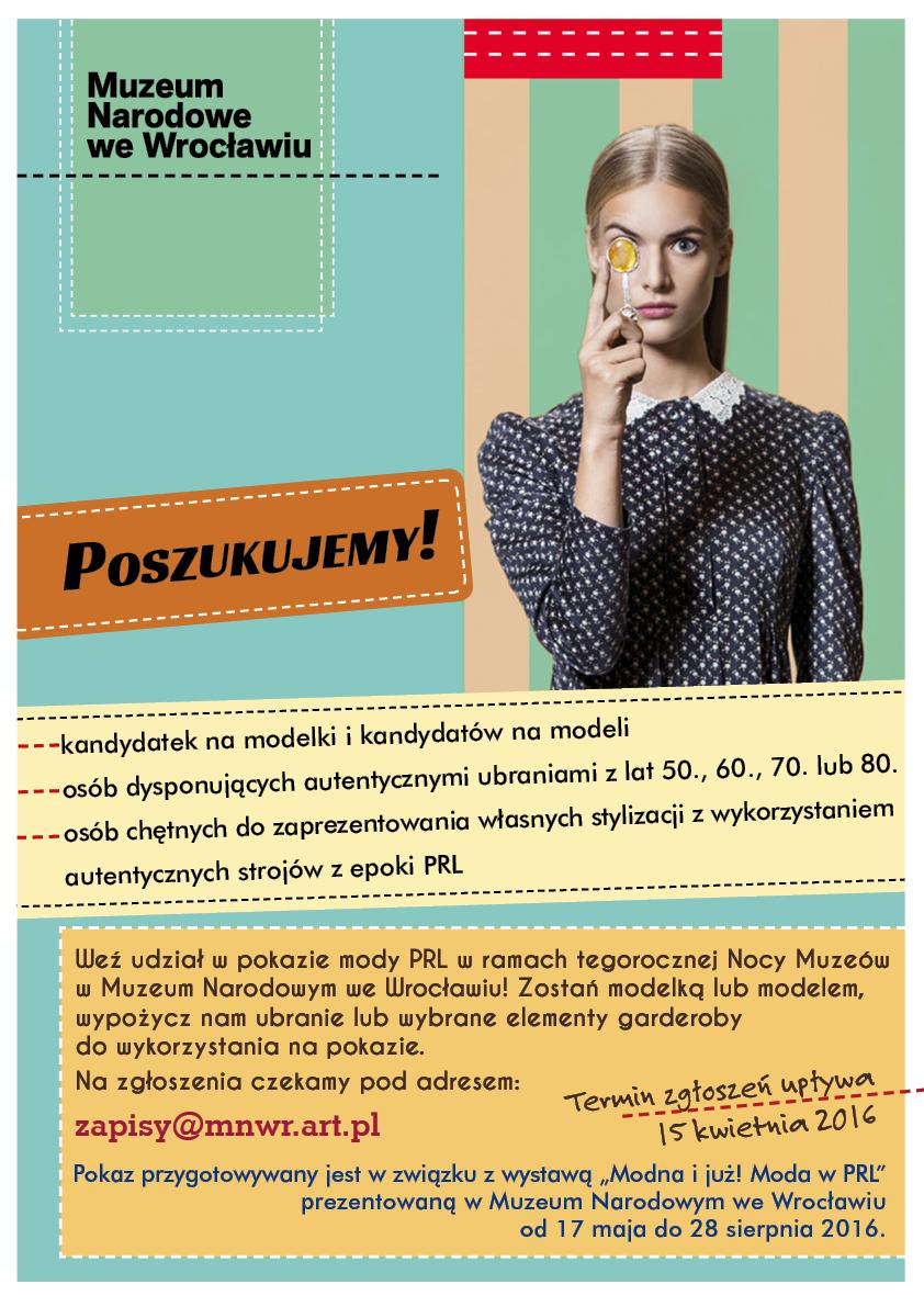 ogloszenie, moda PRL.A3