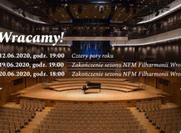 Narodowe Forum Muzyki powraca do działalności koncertowej