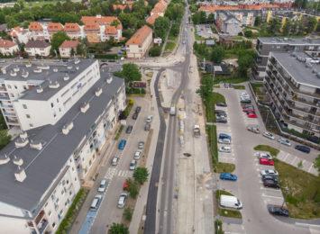 Trwa przebudowa ulicy Obornickiej. Będzie gotowa za rok!