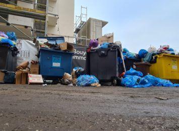Nadodrzańskie podwórko tonie w śmieciach. To pożywka dla szczurów - mówią mieszkańcy