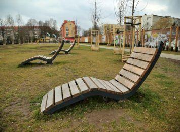 Park kieszonkowy przy ul. Kwaśnej