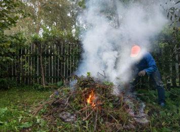 """""""Oni nas trują z lenistwa"""" - społecznik skarży się na ogniska na działkach"""