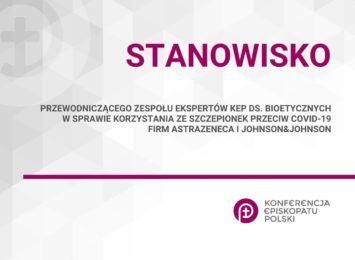 Stanowisko episkopatu w sprawie szczepionek: co sądzi o tym prof. Leszek Szenborn?