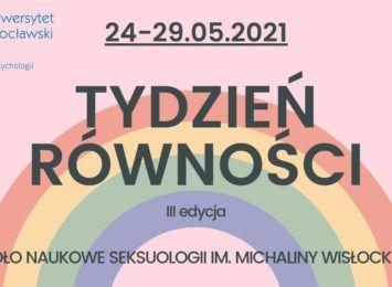 Tydzień Równości na Uniwersytecie Wrocławskim