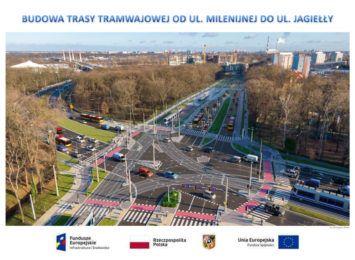 Uwaga kierowcy! Od zmiany organizacji ruchu na skrzyżowaniu ul. Milenijnej i Popowickiej!