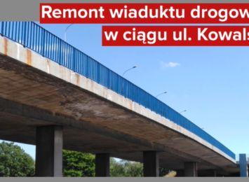 Koniec remontu wiaduktu w ul. Kowalskiej