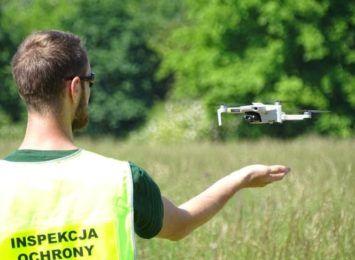 Inspektorzy Ochrony Środowiska będą prowadzić kontrole dronami