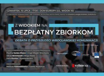 Darmowe MPK we Wrocławiu? - debata w w Domu Europy