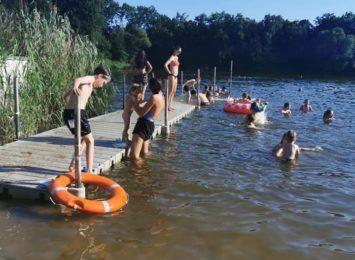 Kąpielisko na Oporowie znów zdewastowane