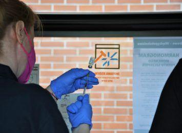 Szczepciobus w akcji - skorzystało z niego blisko 2 tysiące osób