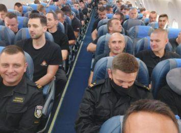 Podmiana strażaków na misji Grecja 2021