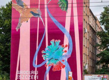 Kolejny mural zachęca mieszkańców do szczepień