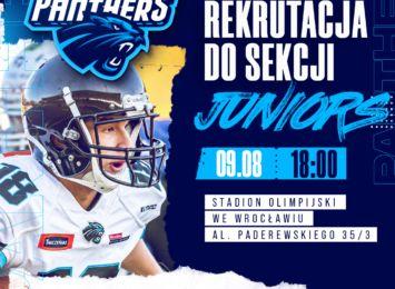 Dołącz do Panthers Juniors i rozpocznij swoją przygodę z futbolem amerykańskim!
