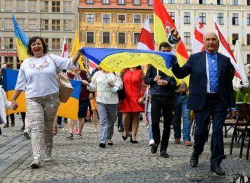 Wrocław świętuje 30-lecie uzyskania niepodległości przez Ukrainę