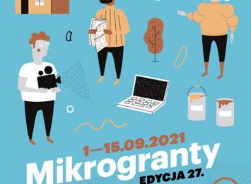 Mikrogranty: Edycja 27. - wrzesień 2021