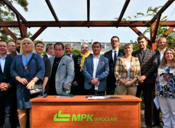 MPK Wrocław otrzymało dofinansowanie na 11 elektrycznych autobusów