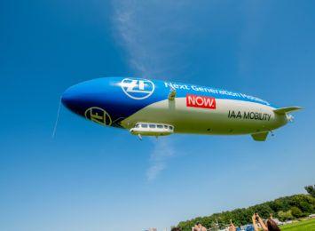 Zeppelin ZF leci do Wrocławia