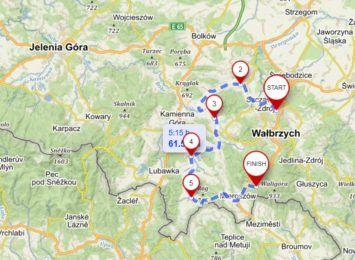Rajd dla hospicjum w Wałbrzychu